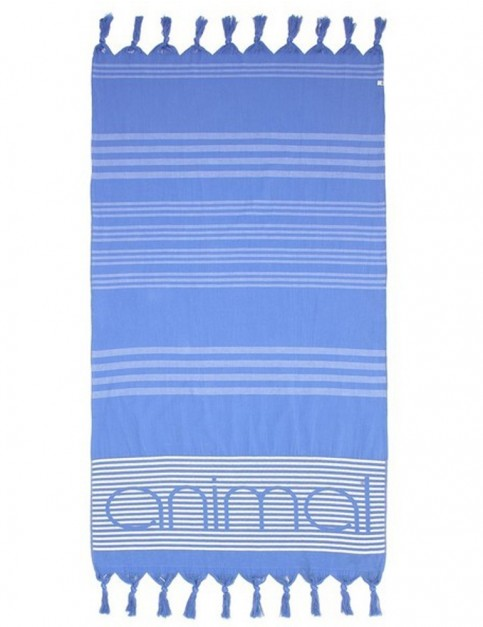 Animal Mira Beach Towel in Dusty Blue