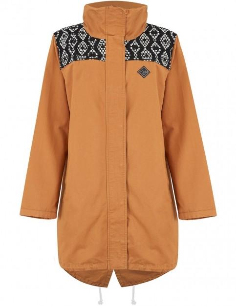 Animal Nia Jacket in Toffee Apple Brown