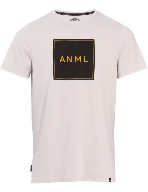 Animal Noah Short Sleeve T-Shirt in Violet Grey Marl