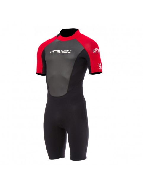 Animal Nova Shorty Wetsuit in Bright Red