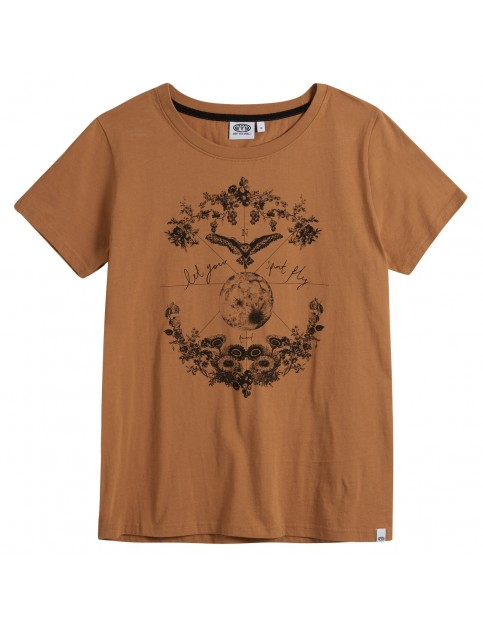 Animal Nurtured Short Sleeve T-Shirt in Toffee Apple Brown