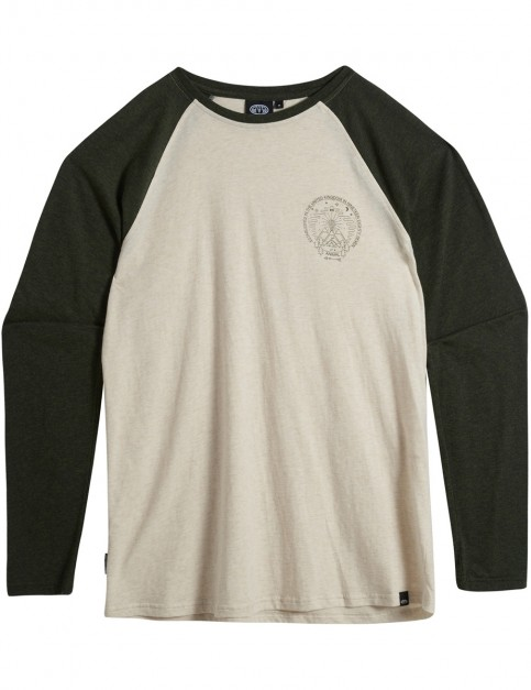 Animal Ocana Long Sleeve T-Shirt in Pine Green Marl