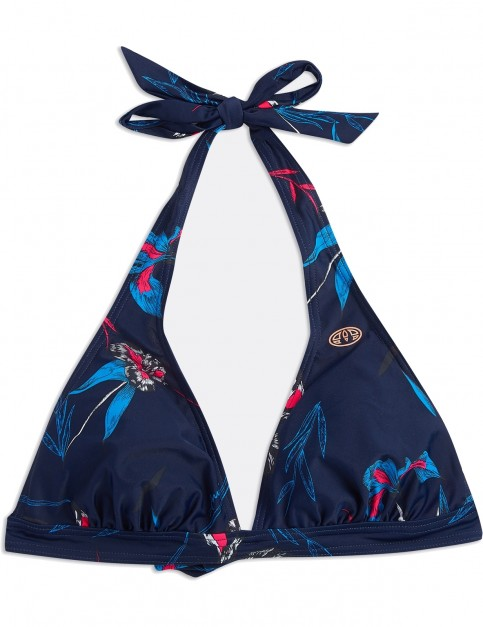 Animal Pai Bikini Top in Mid Navy Blue