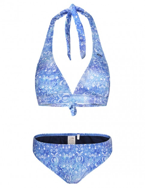 Animal Paison Bikini in Diamond Blue