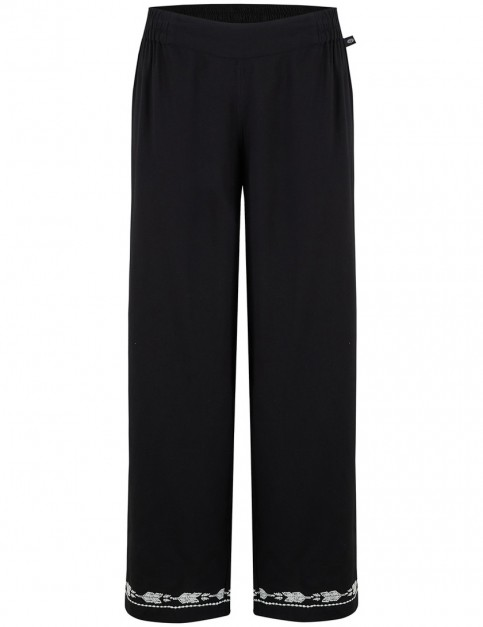 Animal Palace Track Trousers in Black