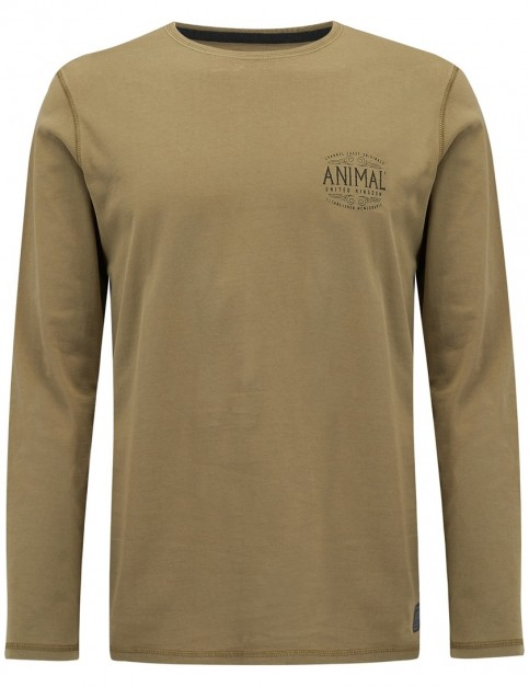 Animal Palmer Long Sleeve T-Shirt in Lizard Green