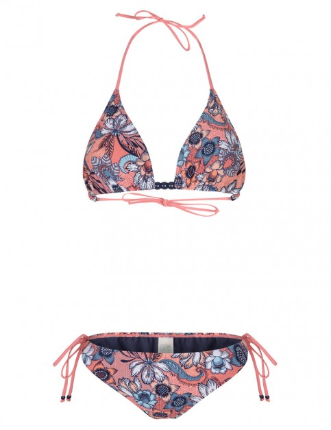 Animal Panya Bikini in Rouge Red