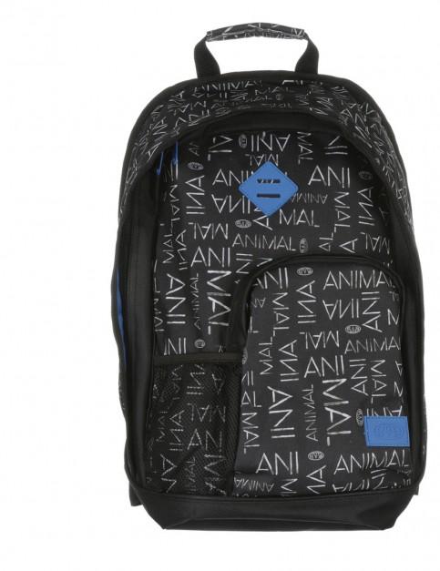 Animal Park Backpack in Black White