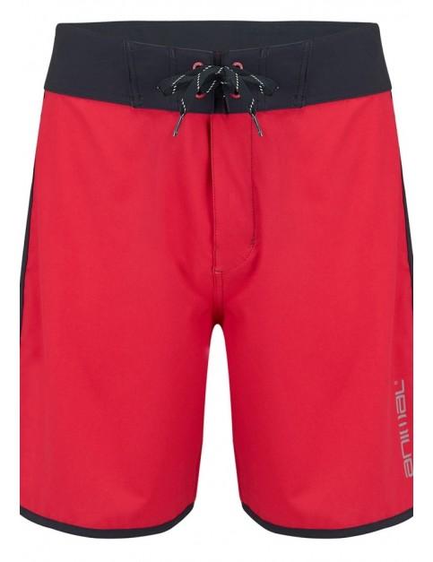 Animal Playa Short Boardshorts in Rich Red