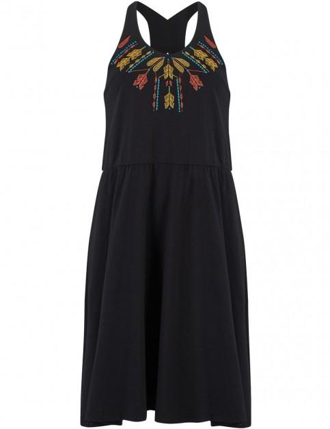 Animal Poppie Dress in Black