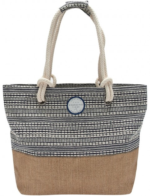 Animal Poppy Tote Bag in Dark Navy