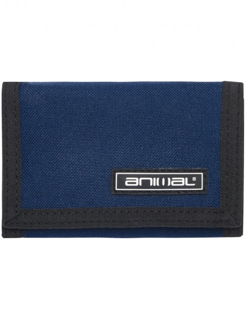 Animal Prevail Polyester Wallet in Dark Navy