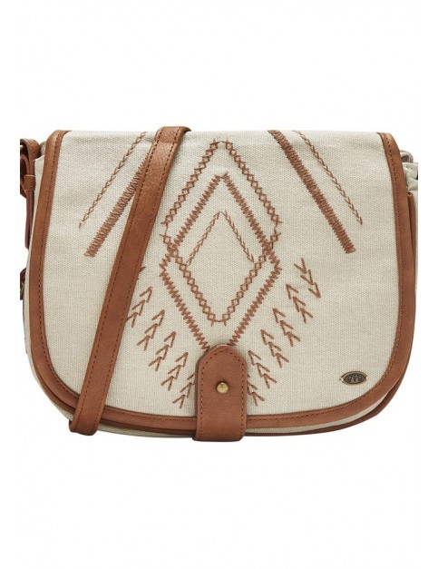 Animal Prominence Cross Body Bag in Coconut Cream