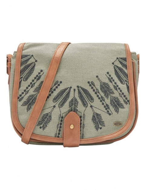 Animal Prominence Cross Body Bag in Leaf Green
