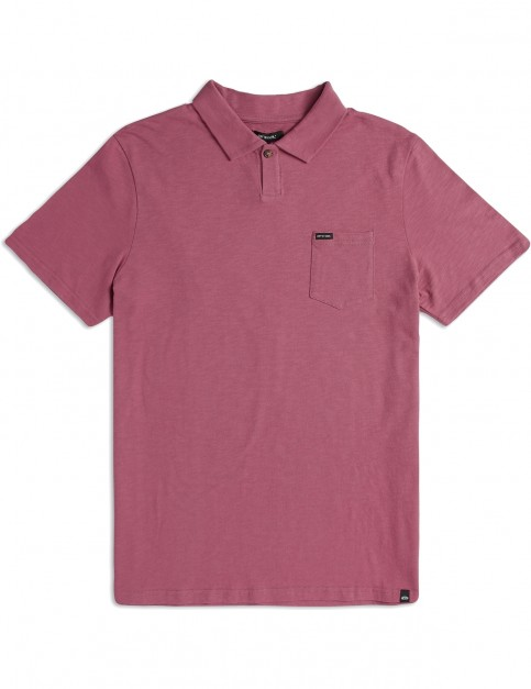 Animal Quay Polo Shirt in Deco Pink