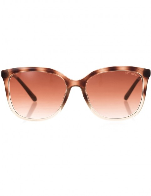 Animal Radiance Sunglasses in Milky Brown