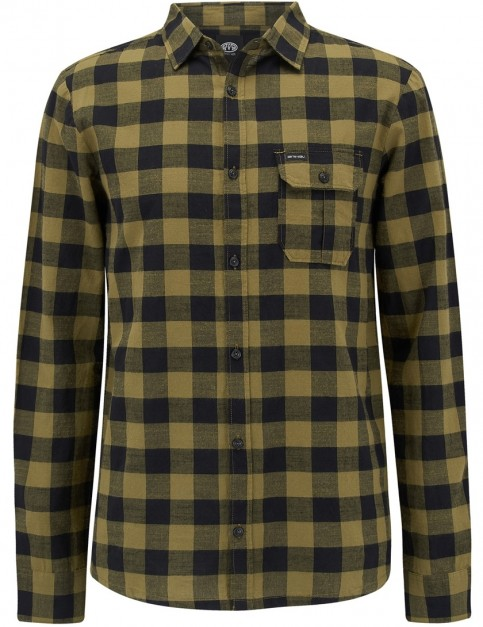 Animal Raker Long Sleeve Shirt in Lizard Green