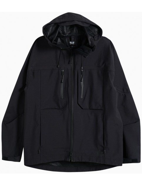 Animal Reconn Parka Jacket in Black