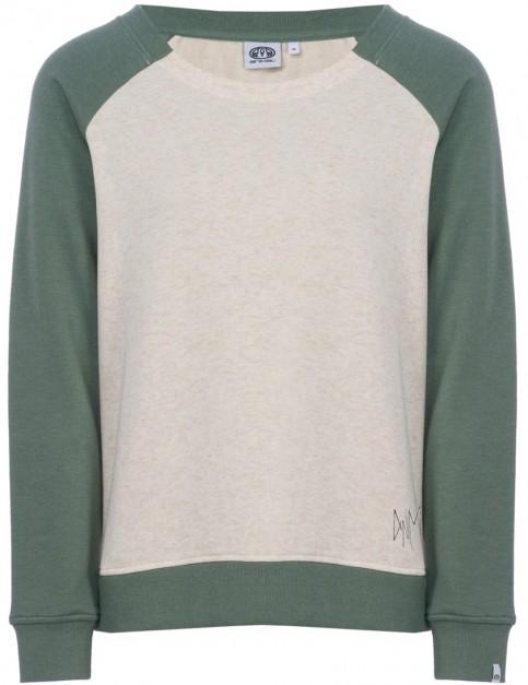 Animal Retro Rookie Sweatshirt in Vanilla Cream Marl