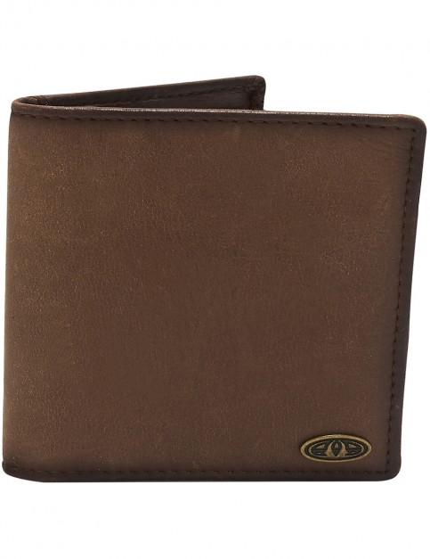 Animal Rife Leather Wallet in Brown