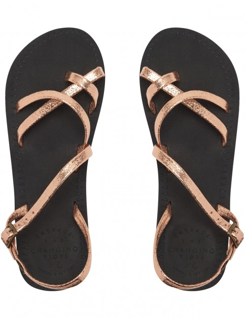 Animal Riya Flip Flops in Black