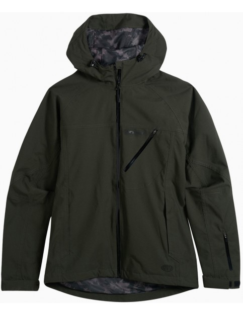 Animal Roads Jacket in Pine Green Marl