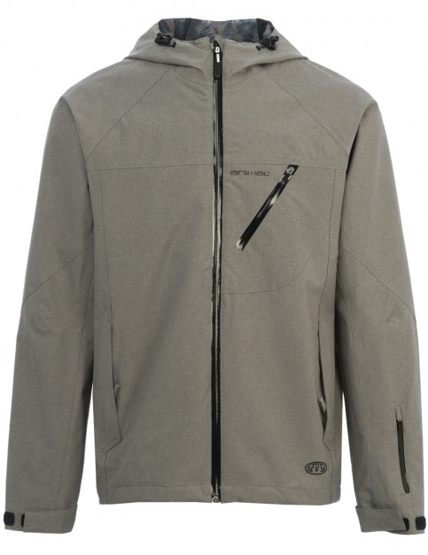 Animal Roads Jacket in Steel Grey