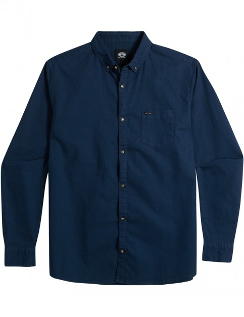 Animal Robbie Long Sleeve Shirt in Dark Navy