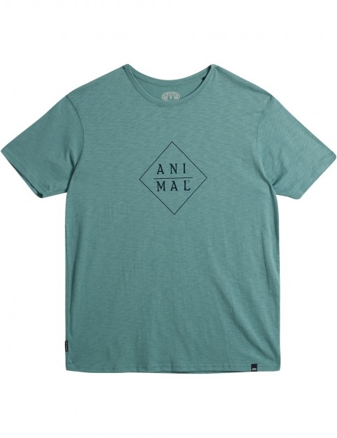 Animal Robic Short Sleeve T-Shirt in Oil Blue