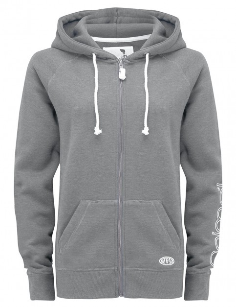 Animal Roo Zipped Hoody in Charcoal Marl