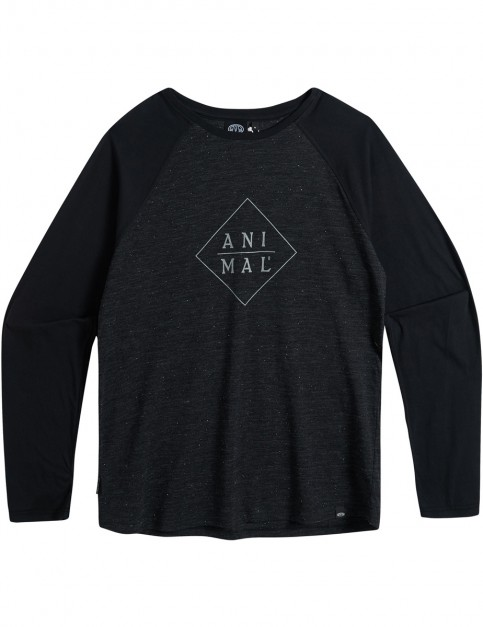 Animal Rossi Long Sleeve T-Shirt in Black