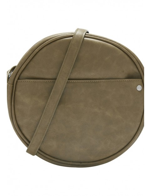 Animal Rounded Cross Body Bag in Leaf Green