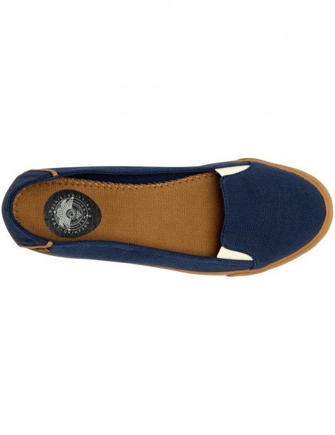 Animal Sabah Deck Shoes in Dark Navy