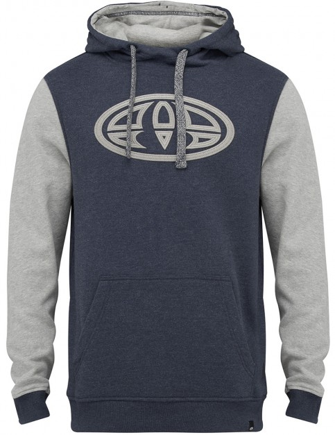 Total Eclipse Navy Marl Animal Sabre Pullover Hoody