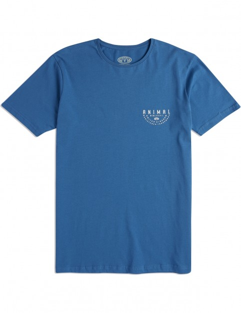 Animal Sconna Short Sleeve T-Shirt in Lethal Blue