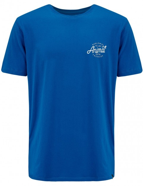 Animal Sconna Short Sleeve T-Shirt in Snorkel Blue