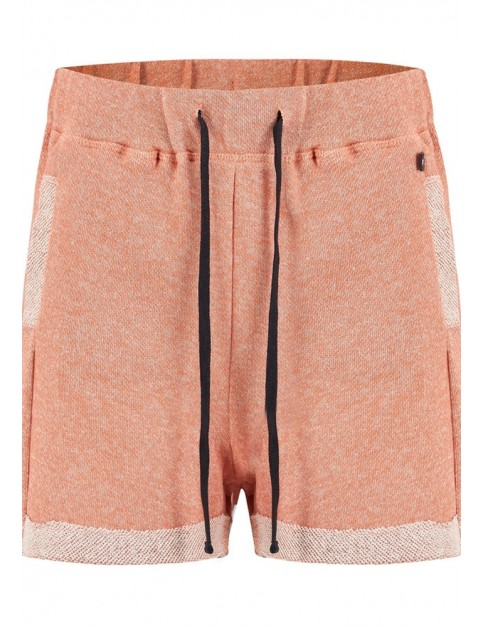 Animal Shortee Shorts in Terracotta Red Marl