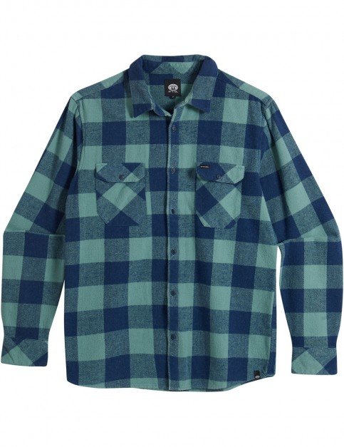 Animal Shovel Long Sleeve Shirt in OIL BLUE