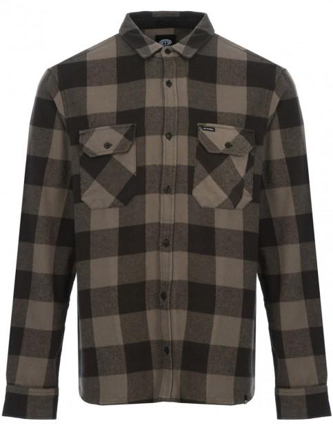 Animal Shovel Long Sleeve Shirt in Steel Grey