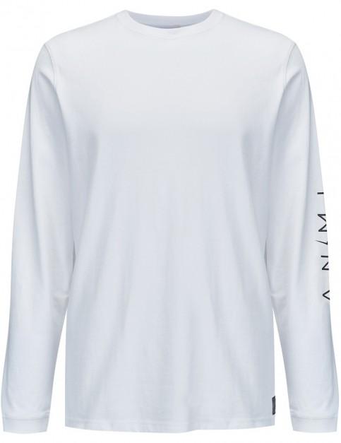 Animal Slades Long Sleeve T-Shirt in White