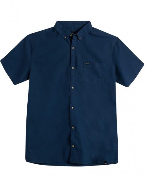 Animal Smokeys Short Sleeve Shirt in Dark Navy