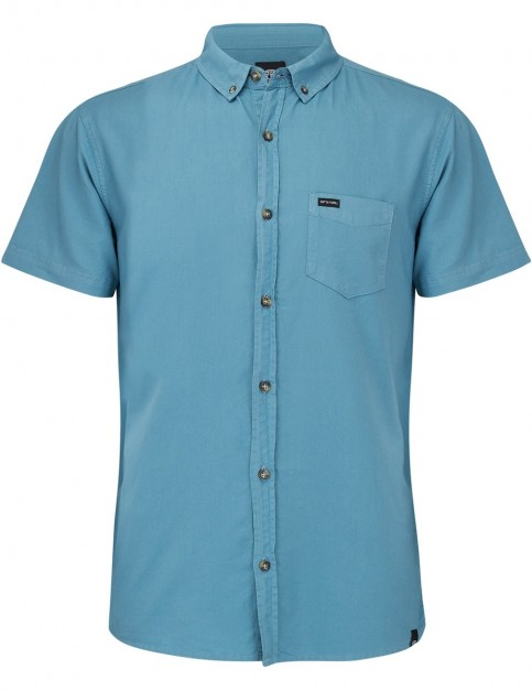 Animal Smokeys Short Sleeve Shirt in Smoke Blue