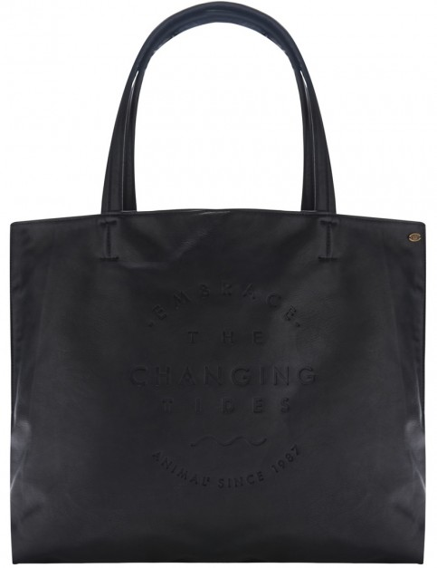 Animal Solstice Tote Bag in Black