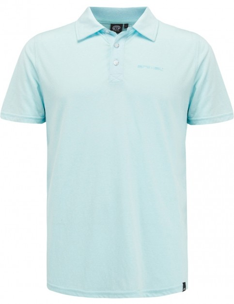 Animal Sonny Polo Shirt in Clearwater Blue Marl