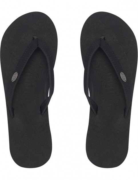 Animal Sorella Flip Flops in Black