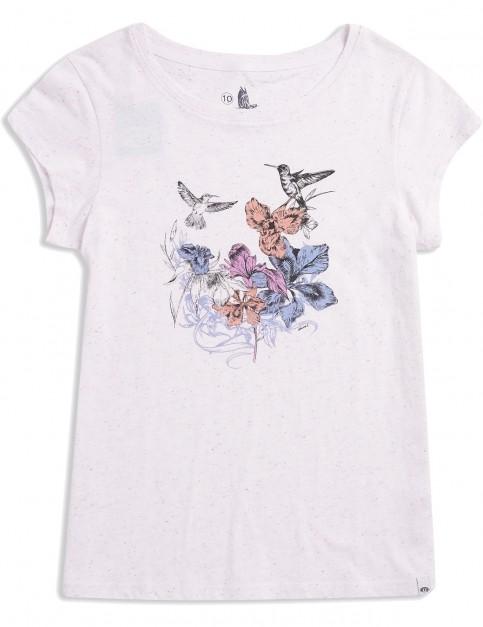 Animal Spirit Animal Short Sleeve T-Shirt in White