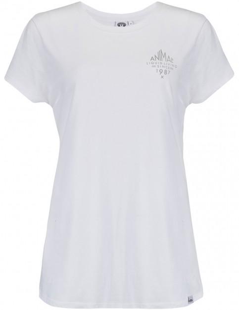 Animal Sportz Short Sleeve T-Shirt in White