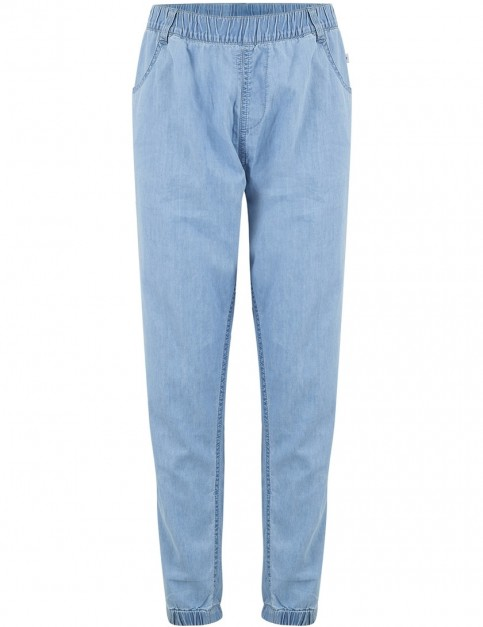 Animal Summer Days Track Trousers in Chambray Blue