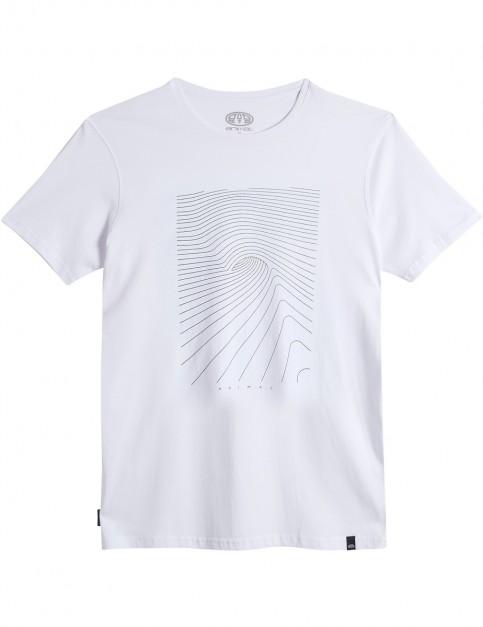 Animal Sunn Short Sleeve T-Shirt in White