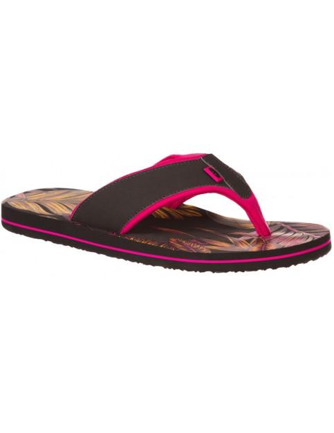 Animal Swish Aop Flip Flops in Hot Pink